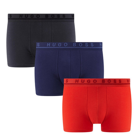 3 Pack Jersey Trunks, ${color}