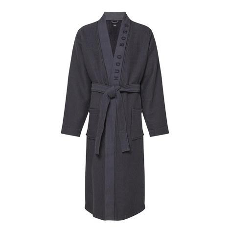 Waffle Kimono Robe, ${color}