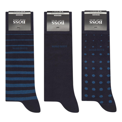 Three Pack Sock Gift Set, ${color}