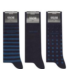 Three Pack Sock Gift Set