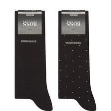 2 Pack Socks Gift Box
