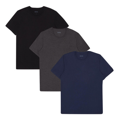 3-Pack Crew Neck T-Shirts, ${color}