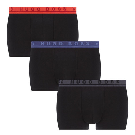 3 Pack Stretch Boxer Shorts, ${color}