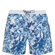 Mandarinfish Print Swim Shorts
