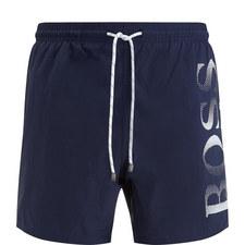 Octopus Branded Swim Shorts