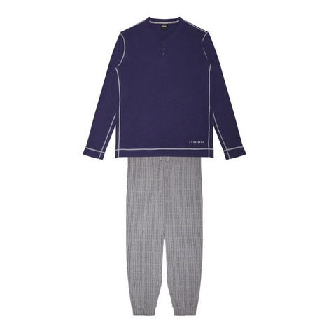 Logo Pants Pyjama Set, ${color}