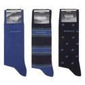 3-Pack Xmas Socks Gift Set, ${color}