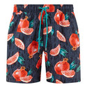 Threadfin Pomegranate Print Swim Short, ${color}