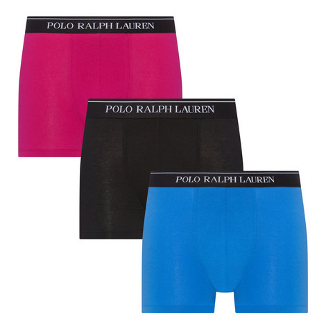 3 Pack Stretch-Cotton Trunks, ${color}