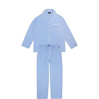 Gingham Cotton Pyjama Set
