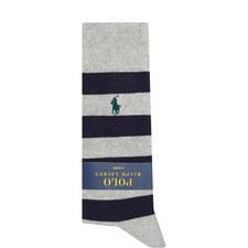 Two-Pack Rugby Stripe Socks