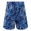 Paisley Print Swim Shorts, ${color}