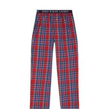 Check Pattern Pyjama Bottoms