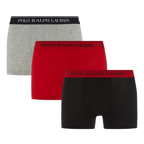 3-Pack Cotton Stretch Trunks, ${color}