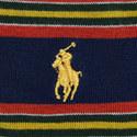 2 Pack Cotton Stripe Socks, ${color}