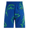 Shark Print Swim Shorts, ${color}
