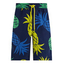 Traveller Pineapple Print Swim Shorts, ${color}