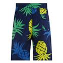 Traveller Pineapple Print Swim Shorts, ${color}