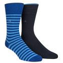 2-Pack Flat Knit Socks, ${color}