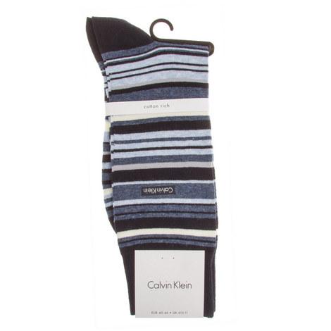 Broken Stripe Socks, ${color}