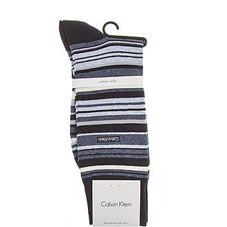 Broken Stripe Socks