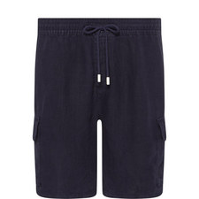 Baie Linen Casual Shorts