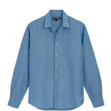 Caroubis Regular Fit Linen Shirt
