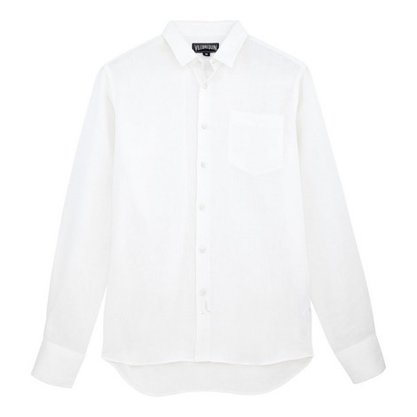 Caroubis Linen Shirt, ${color}