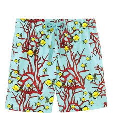 Moorea Corail and Poissons Swim Shorts
