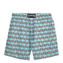 Moorea Cubed Fish Swim Shorts, ${color}