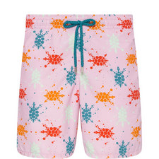 Moorea Japan Turtles Swim Shorts