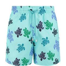 Moorea Tortoise Swim Shorts
