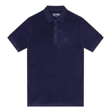 Pacific Terry Cloth Polo Shirt, ${color}