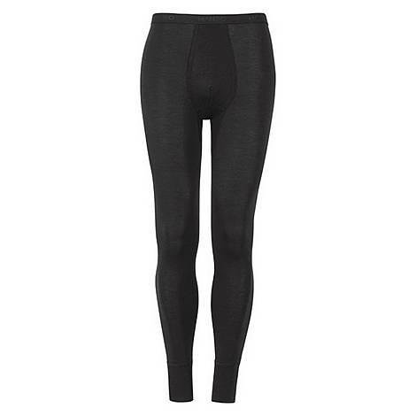 Woollen Silk Long Leg Pants, ${color}