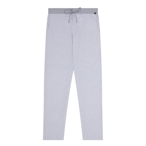 Check Cotton Pyjama Bottoms, ${color}