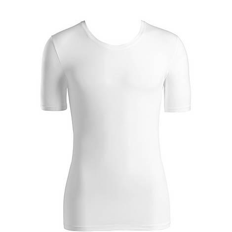 Crew Neck Cotton Superior T-Shirt, ${color}