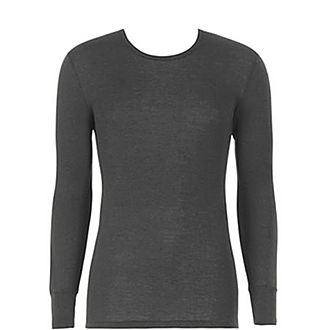 Wool-Silk Long Sleeve T-Shirt