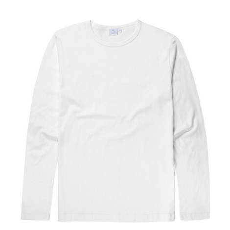 Long Sleeve Cotton T-Shirt, ${color}
