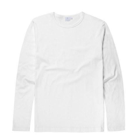 Long Sleeve Cotton T-Shirt, ${color}