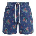 Rose Print Swim Shorts, ${color}