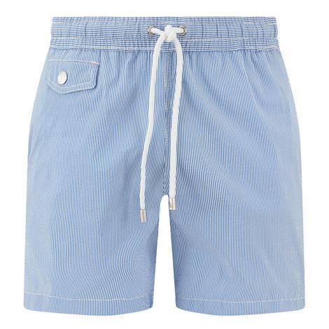 Seersucker Swim Shorts, ${color}