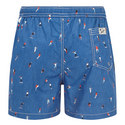 Skater Print Swim Shorts, ${color}