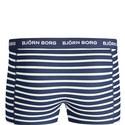 3 Pack Striped Short Trunks, ${color}
