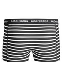 3 Pack Striped Short Trunks, ${color}
