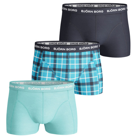 3-Pack Classic Logo Trunks, ${color}