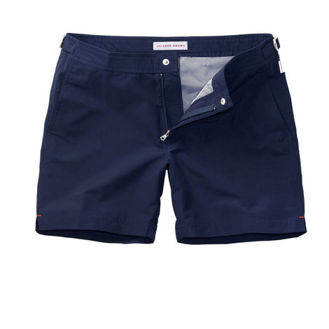 Bulldog Mid-Length Swim Shorts, ${color}