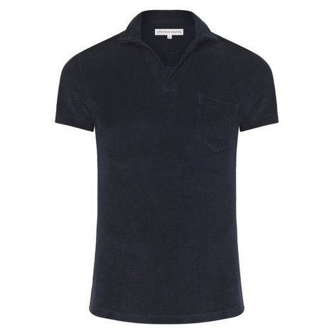 Terry Towelling Polo Shirt, ${color}