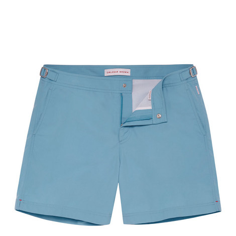 Bulldog Riviera Mid Length Swim Shorts, ${color}
