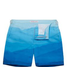 Bulldog Mountain Mist Swim Shorts