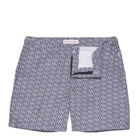 Bulldog Riviera Mid Length Swim Shorts, ${color}